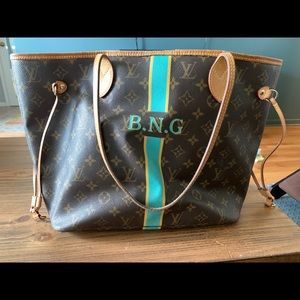 Louis Vuitton MM Neverfull Monmonogram used w love